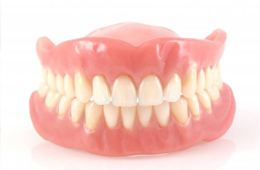 full set of dentures