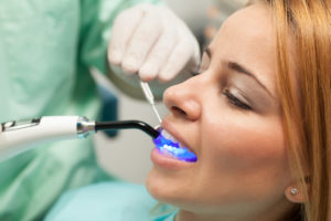 woman smiling happy dental care